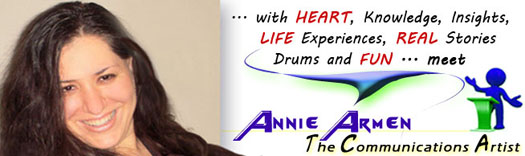 Meet Annie Armen The Communications Artist | CommunicationsArtist.com