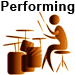 Performing | Annie Armen on Drums | AnnieArmen.com