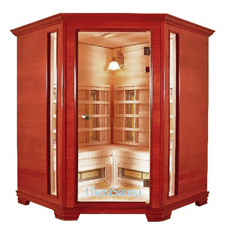 Far Infrared Sauna - Corner Unit | Global Healing Center | AnnieArmen.com